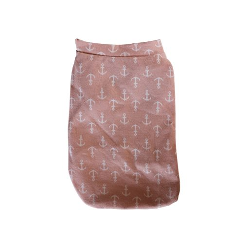Pink Pajamas for Dogs Back View